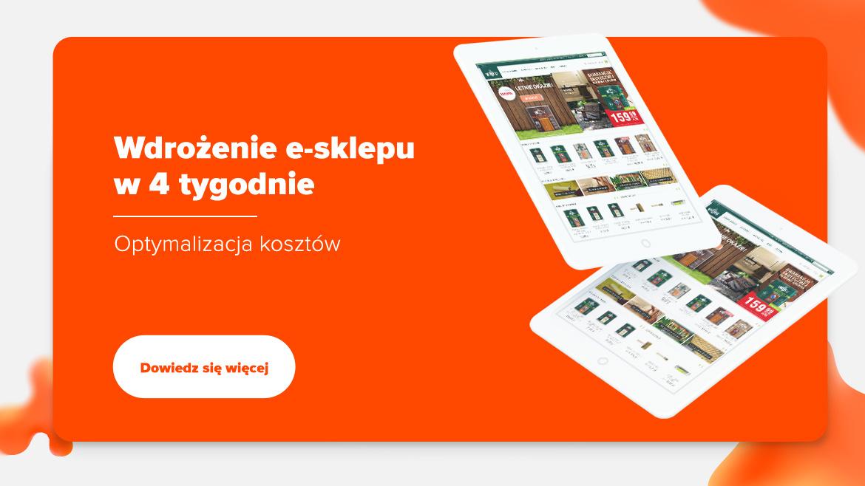 Wdrożenie e-sklepu w 4 tygodnie dla Vidaronu