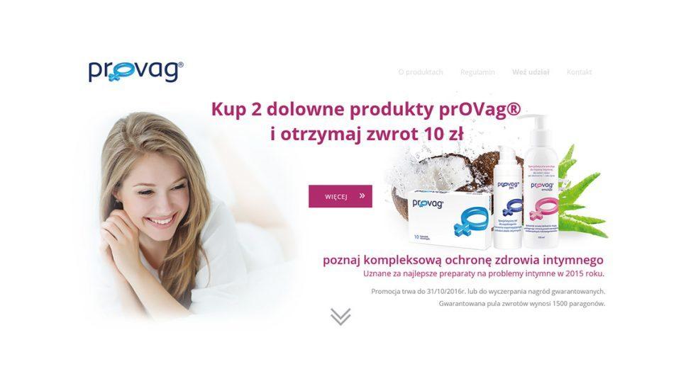 Serwisy konkursowe i landing page dla firmy z branży medycznej