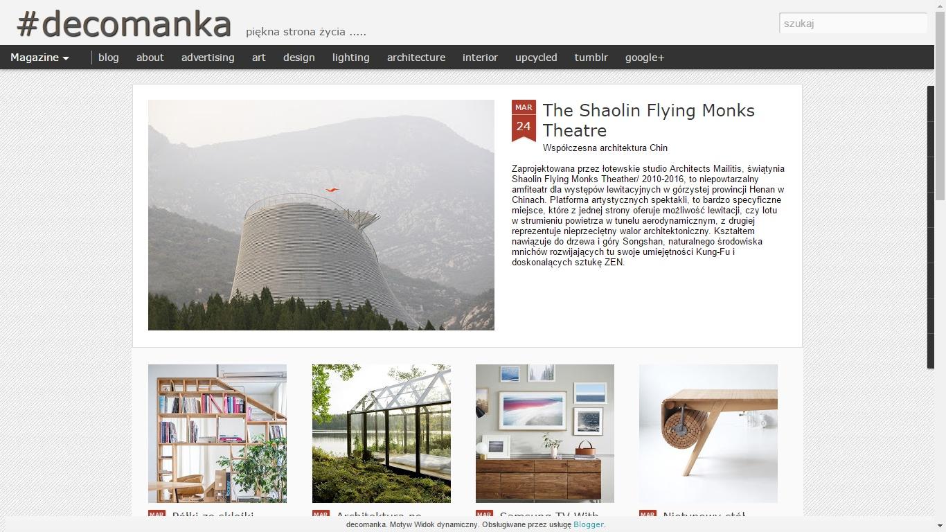 Blog - decomanka.blogspot.com