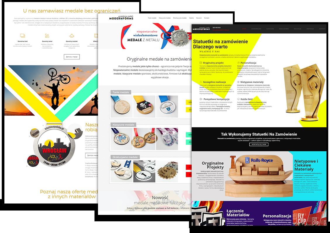 Serwisy produktowo-poradnikowe dla Modern Forms