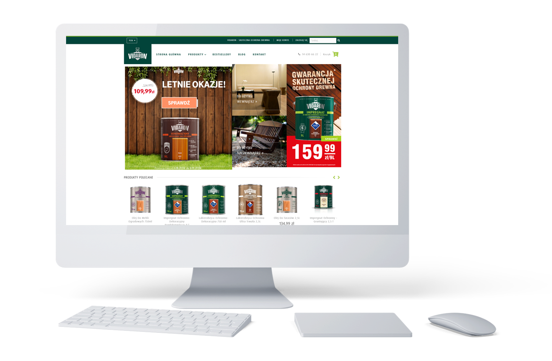 Strona główna e-sklepu Vidaron