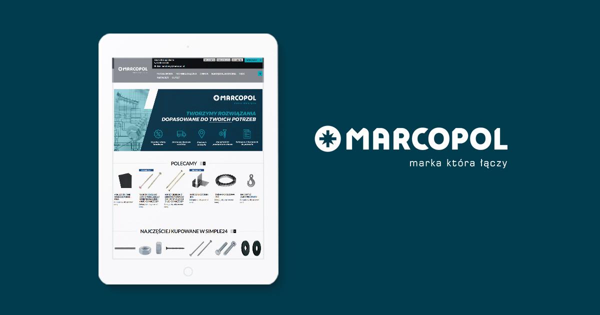 Marcopol – platforma B2B i e-sklep dla producenta elementów złącznych